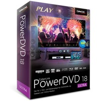 CyberLink PowerDVD 18 Ultra, Multimedia-Software