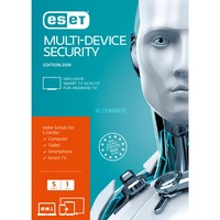 ESET Multi-Device Security 2019, Sicherheit-Software 1 Jahr, Frustfreie Verpackung