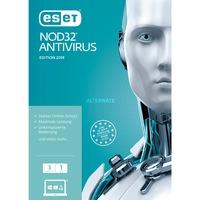 ESET NOD32 Antivirus 2019, Sicherheit-Software 1 Jahr, Frustfreie Verpackung