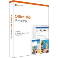 Microsoft Office 365 Personal, Office-Software 1 Jahr