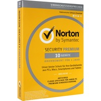 Norton Security Premium 3.0 Multi-Device, Sicherheit-Software 1 Jahr, Mini-Box