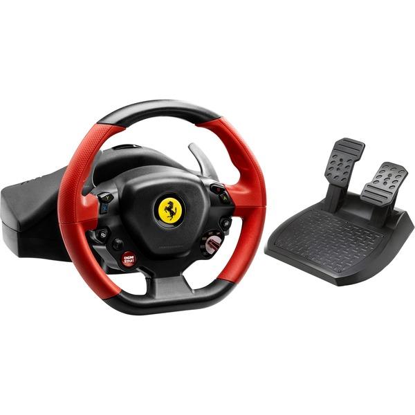 Thrustmaster Ferrari 458 Spider Rennlenker Lenkrad Schwarz Rot