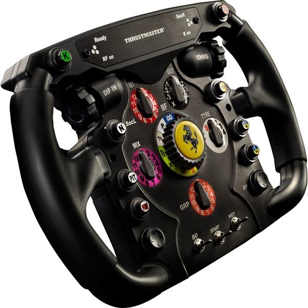 Thrustmaster Ferrari F1 Wheel Add On Austausch Lenkrad Schwarz Silber