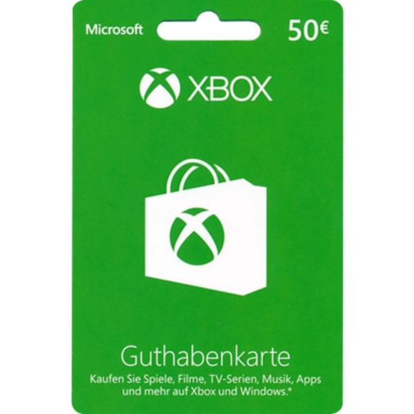 Microsoft Xbox Live Guthabenkarte 50 Euro Gamecard