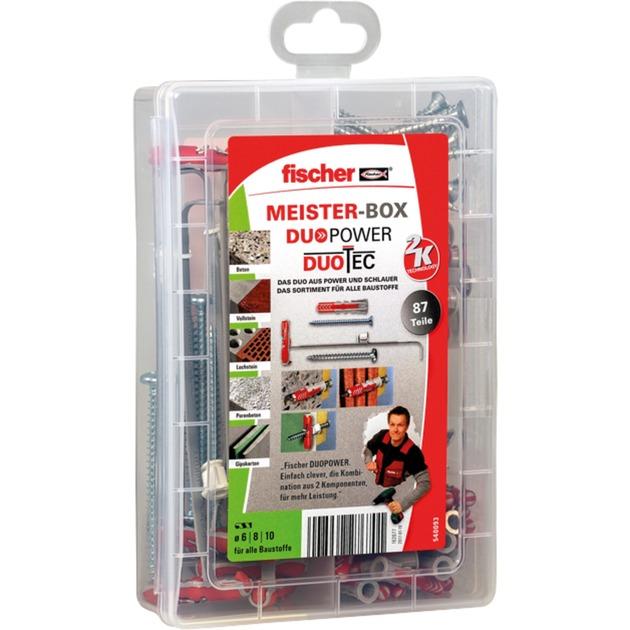Meister-Box DUOPOWER / DUOTEC, Dübel