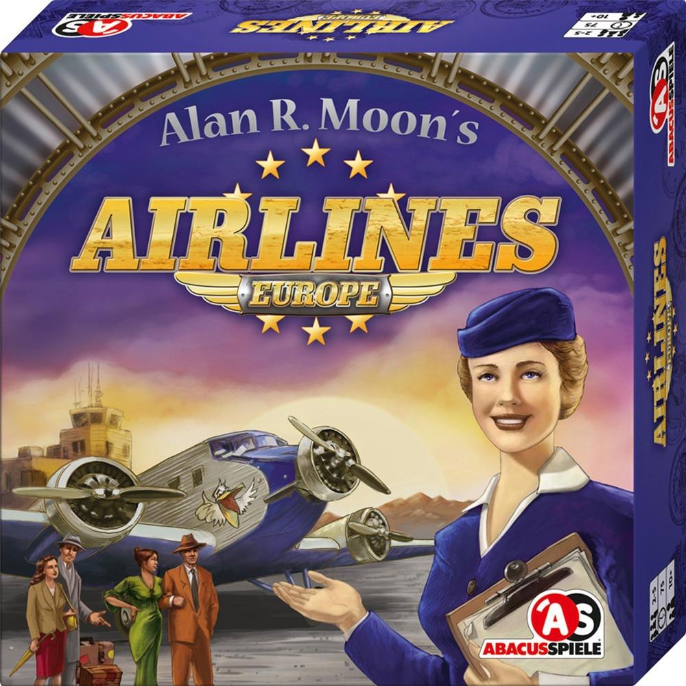 Abacusspiele Airlines Europe, Brettspiel