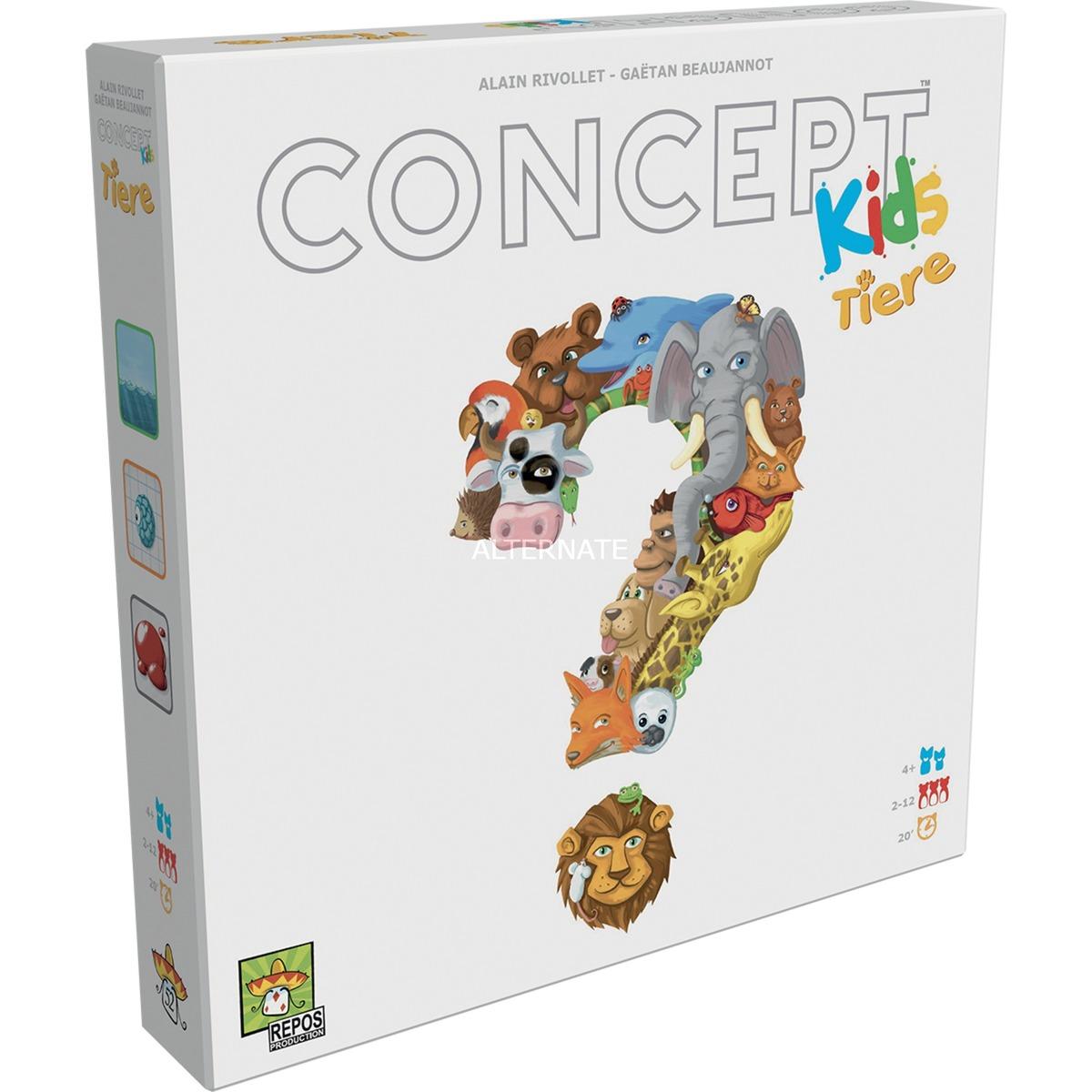 Asmodee Concept Kids - Tiere, Brettspiel