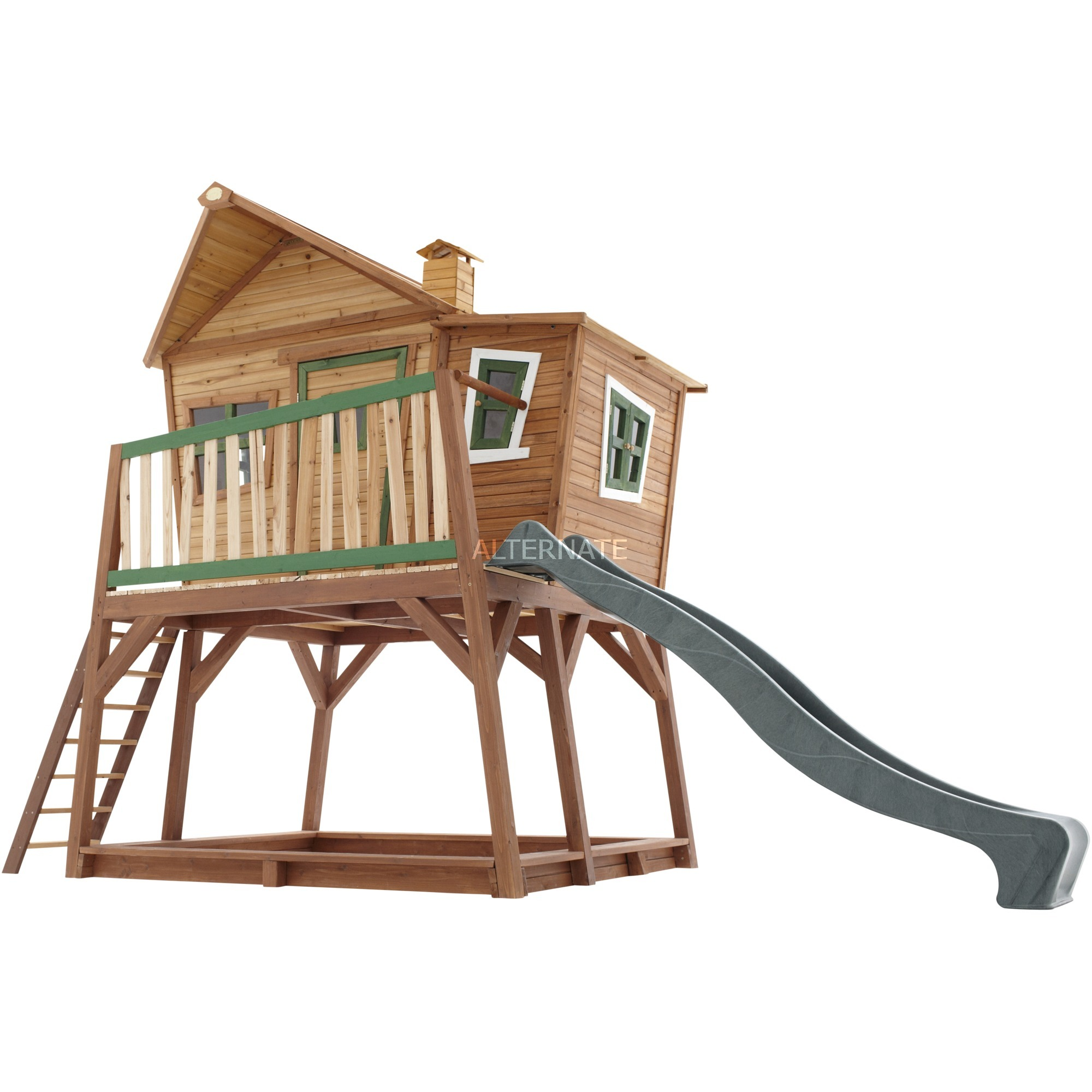 19544d6dca Axi Max Spielhaus auf Stelzen, Gartenspielgerät holz