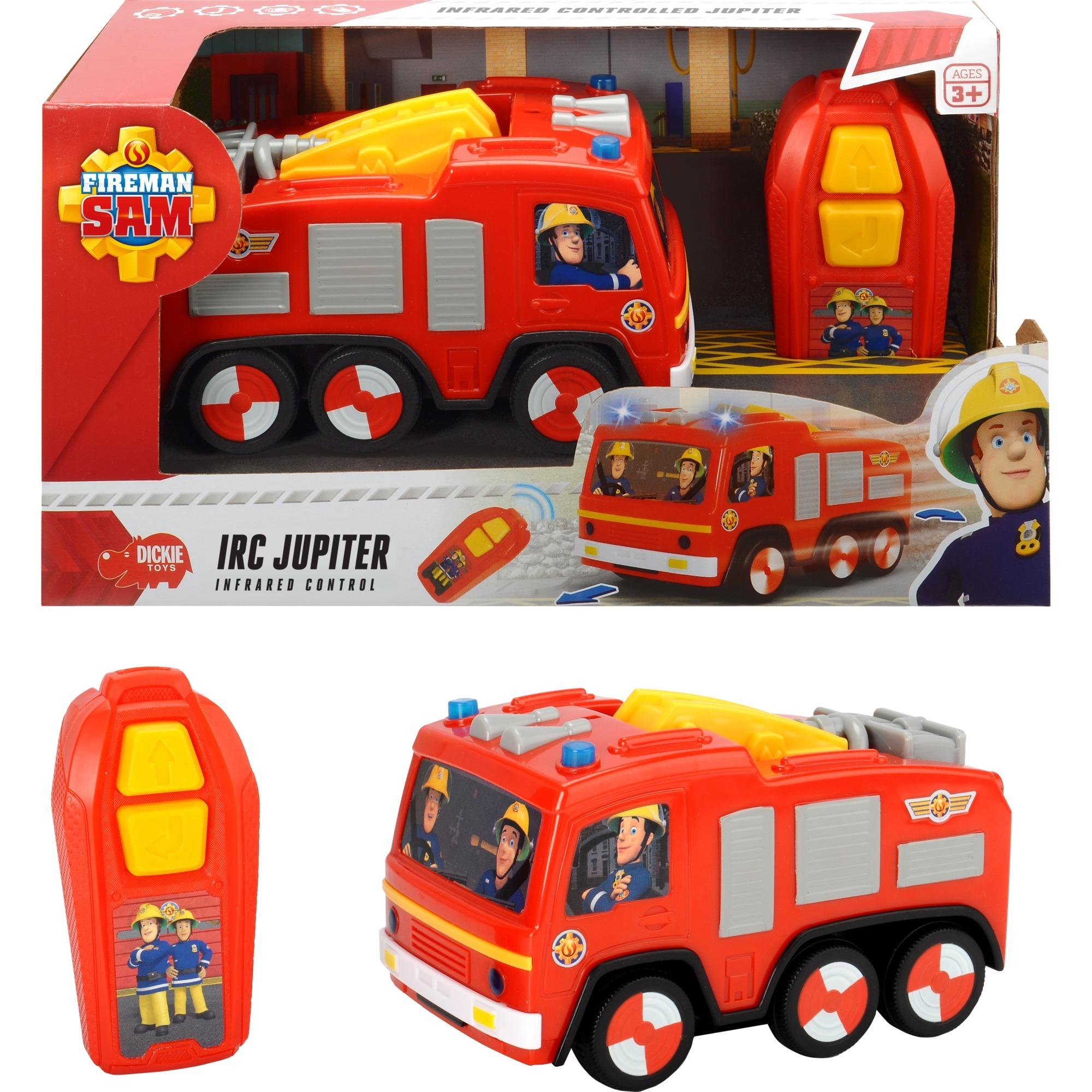 bunt Dickie Toys 203093005 Feuerwehrmann Feuerwehr Station Spielset