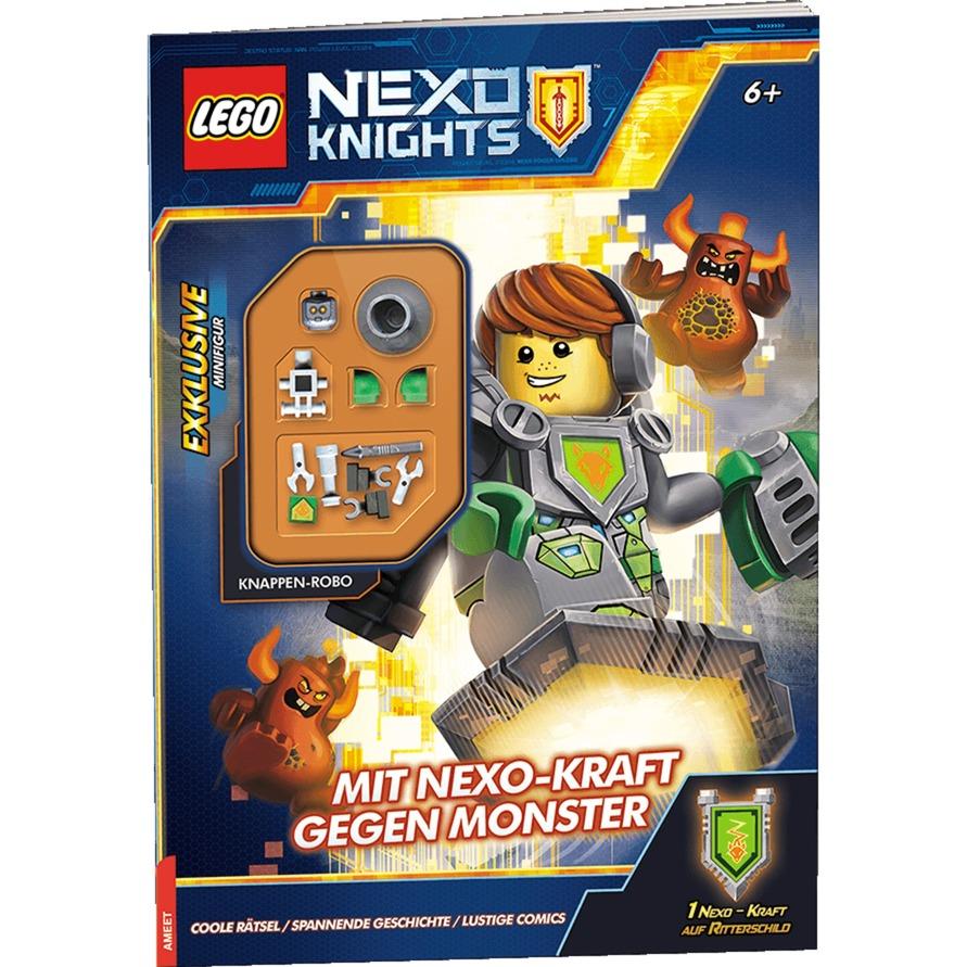 LEGO Nexo Knights: Mit Nexo-Kraft gegen Monster, Buch