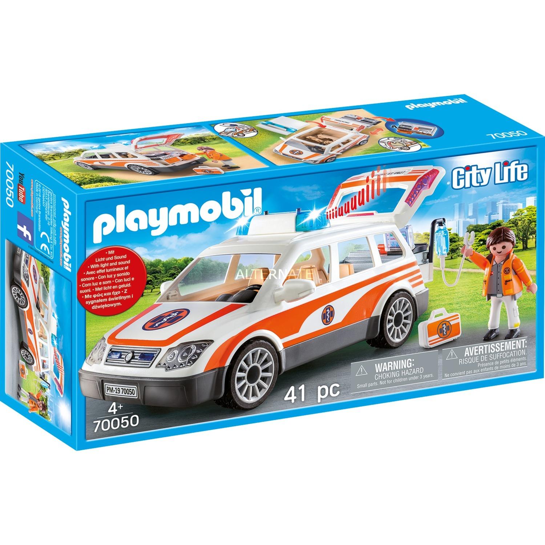 PLAYMOBIL Familien-PKW Bau- & Konstruktionsspielzeug-Sets Konstruktionsspielzeug