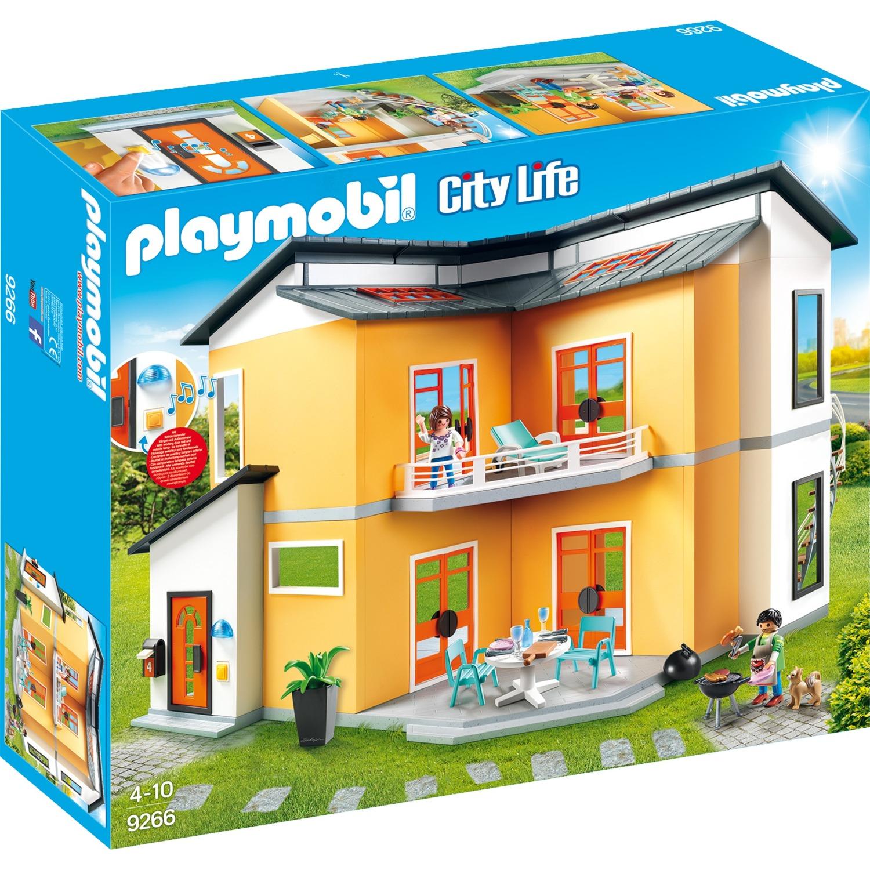 9266 Modernes Wohnhaus, Konstruktionsspielzeug PLAYMOBIL