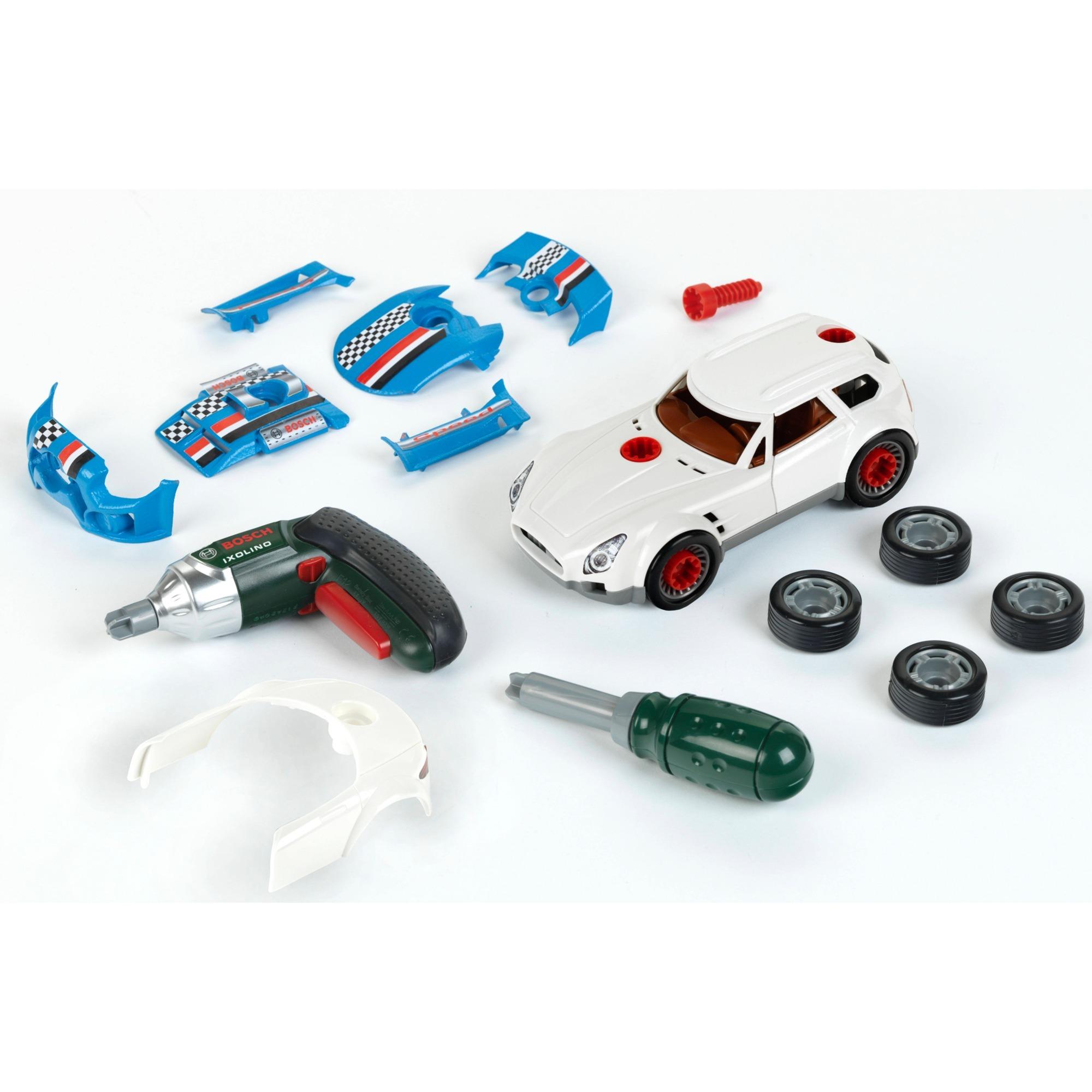 Bosch Car Tuning Set  3 in 1  Kinderwerkzeug