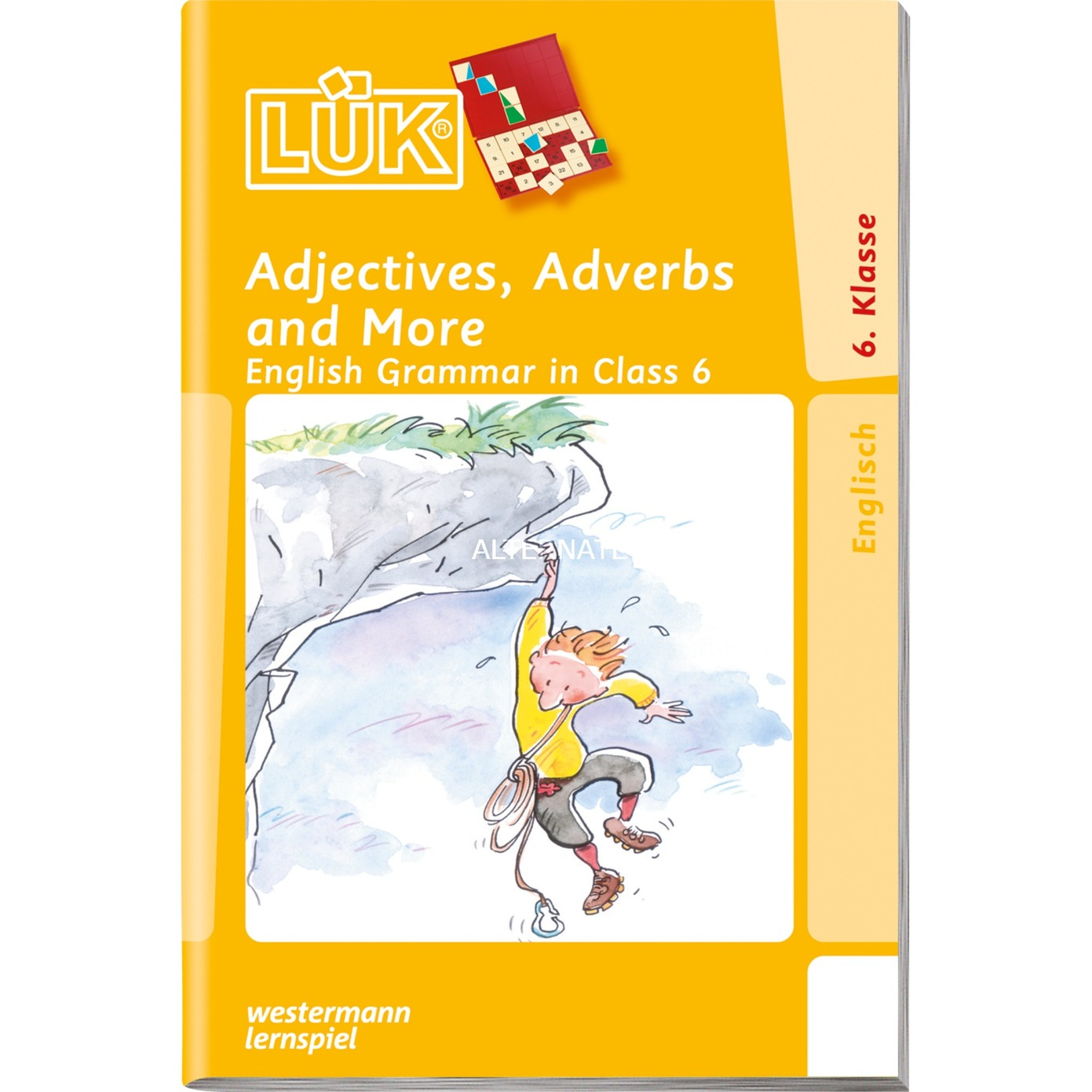 WESTERMANN LÜK-Heft: Adjectives, Adverbs and More, Lernbuch