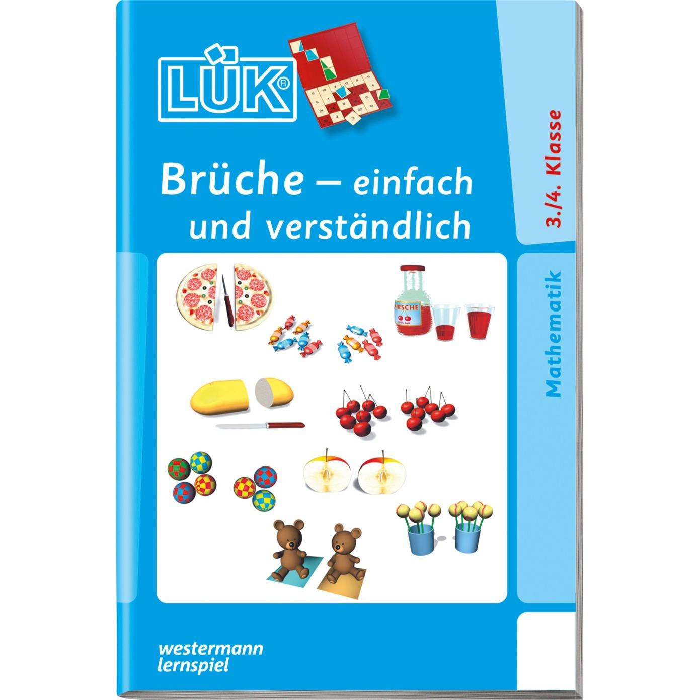 WESTERMANN LÜK-Heft: Brüche - einfach und verständlich, Lernbuch jetztbilligerkaufen