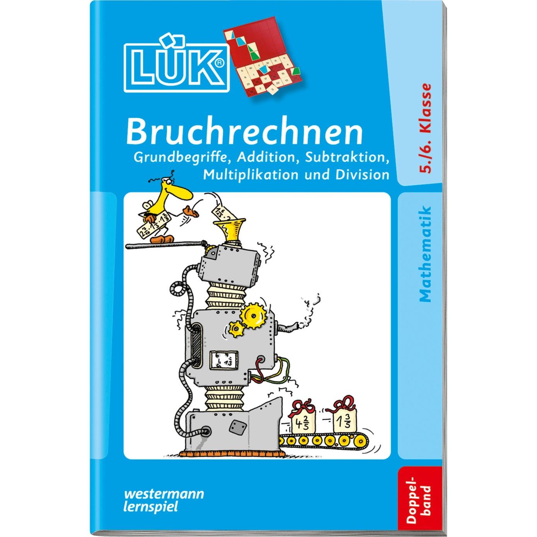 WESTERMANN LÜK-Heft: Bruchrechnen 5./6. Klasse Doppelband, Lernbuch