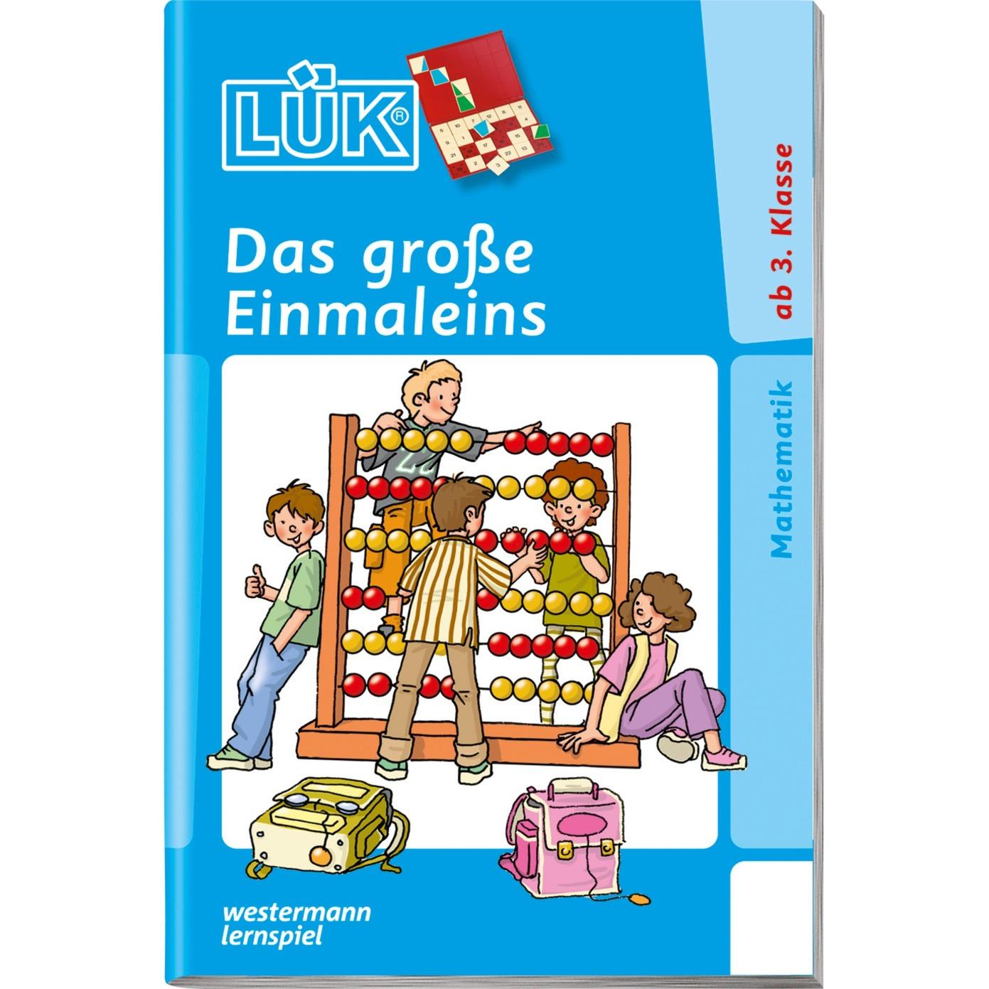 WESTERMANN LÜK-Heft: Das große Einmaleins, Lernbuch jetztbilligerkaufen