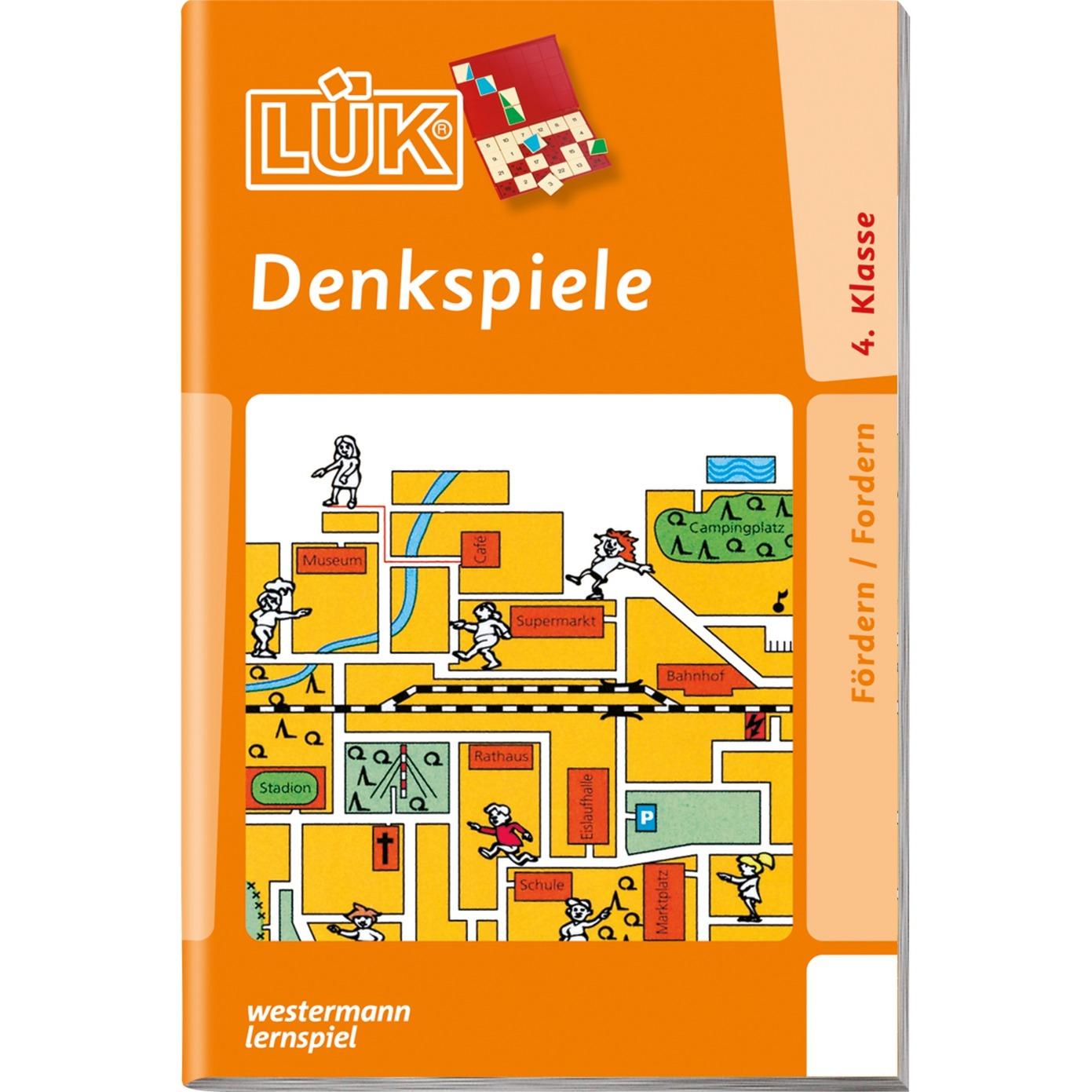 WESTERMANN LÜK-Heft: Denkspiele 2, Lernbuch jetztbilligerkaufen