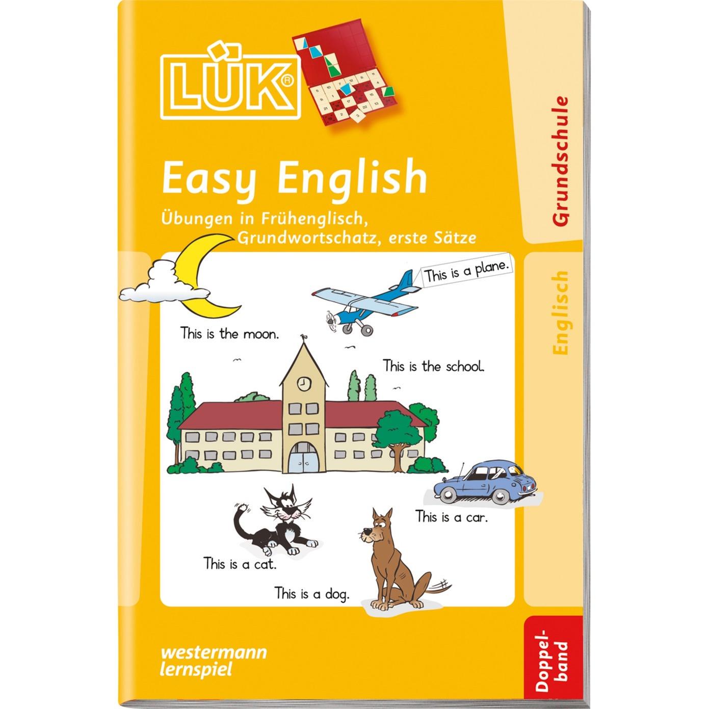 WESTERMANN LÜK-Heft: Easy English Doppelband, Lernbuch