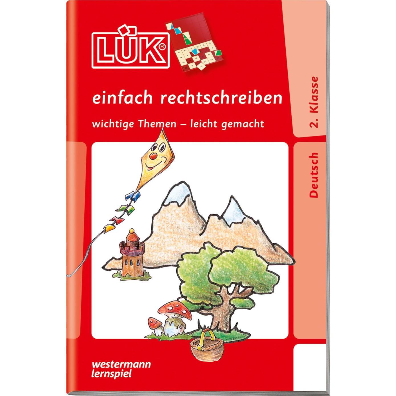 WESTERMANN LÜK-Heft: Einfach rechtschreiben 2. Klasse, Lernbuch - broschei