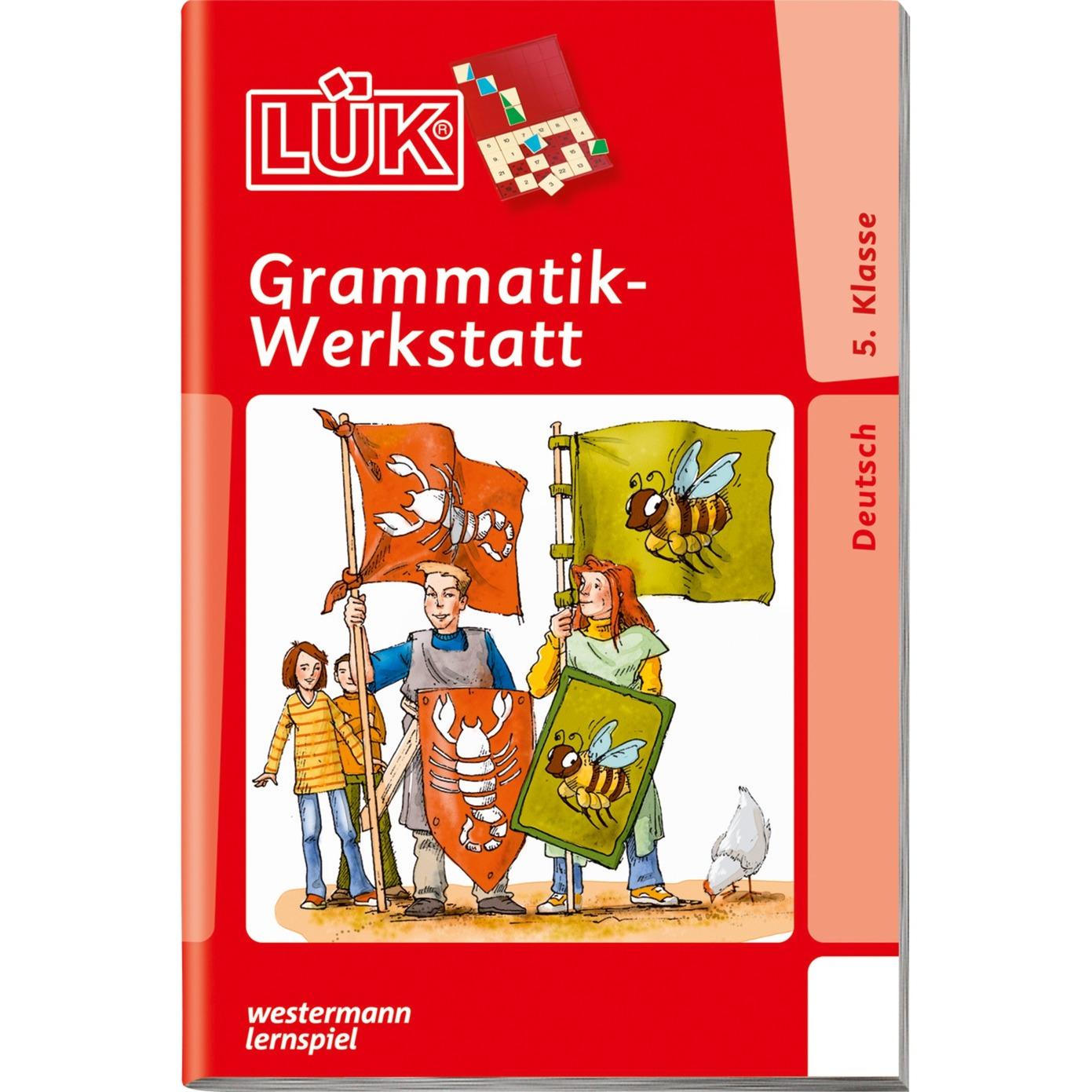 WESTERMANN LÜK-Heft: Grammatik-Werkstatt 5. Klasse, Lernbuch