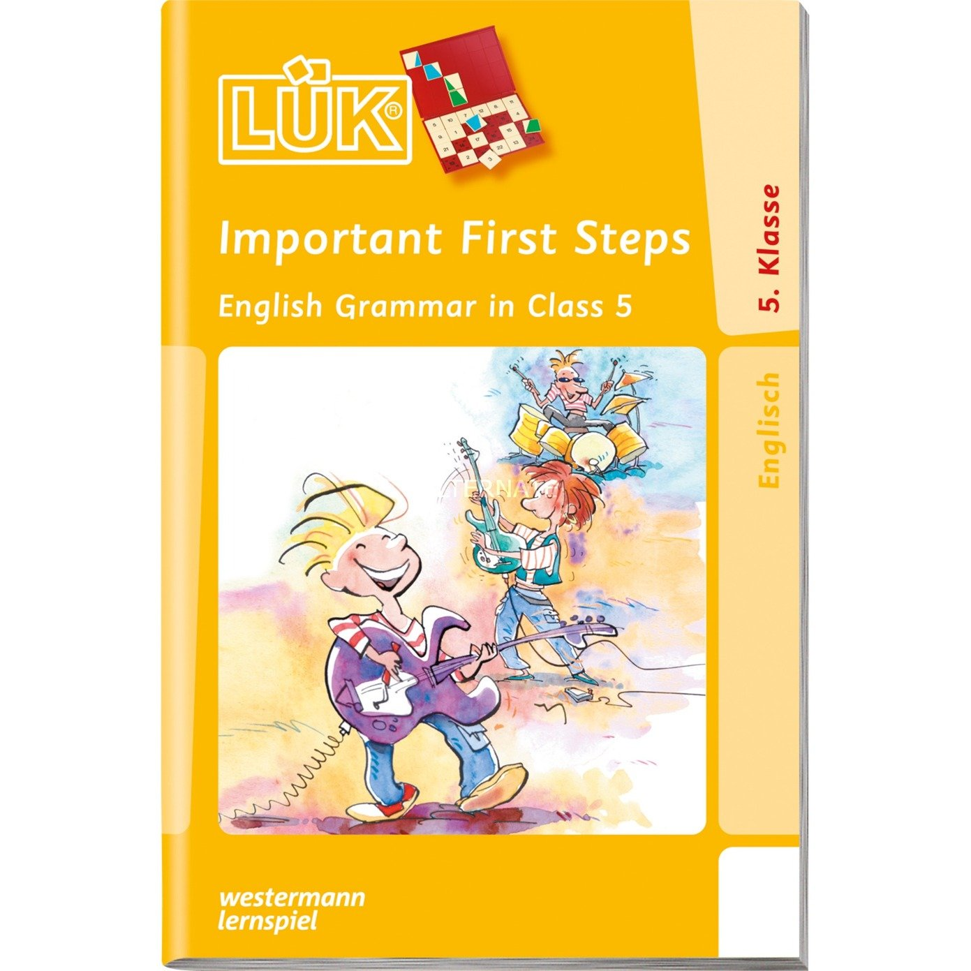 WESTERMANN LÜK-Heft: Important First Steps 5. Klasse, Lernbuch