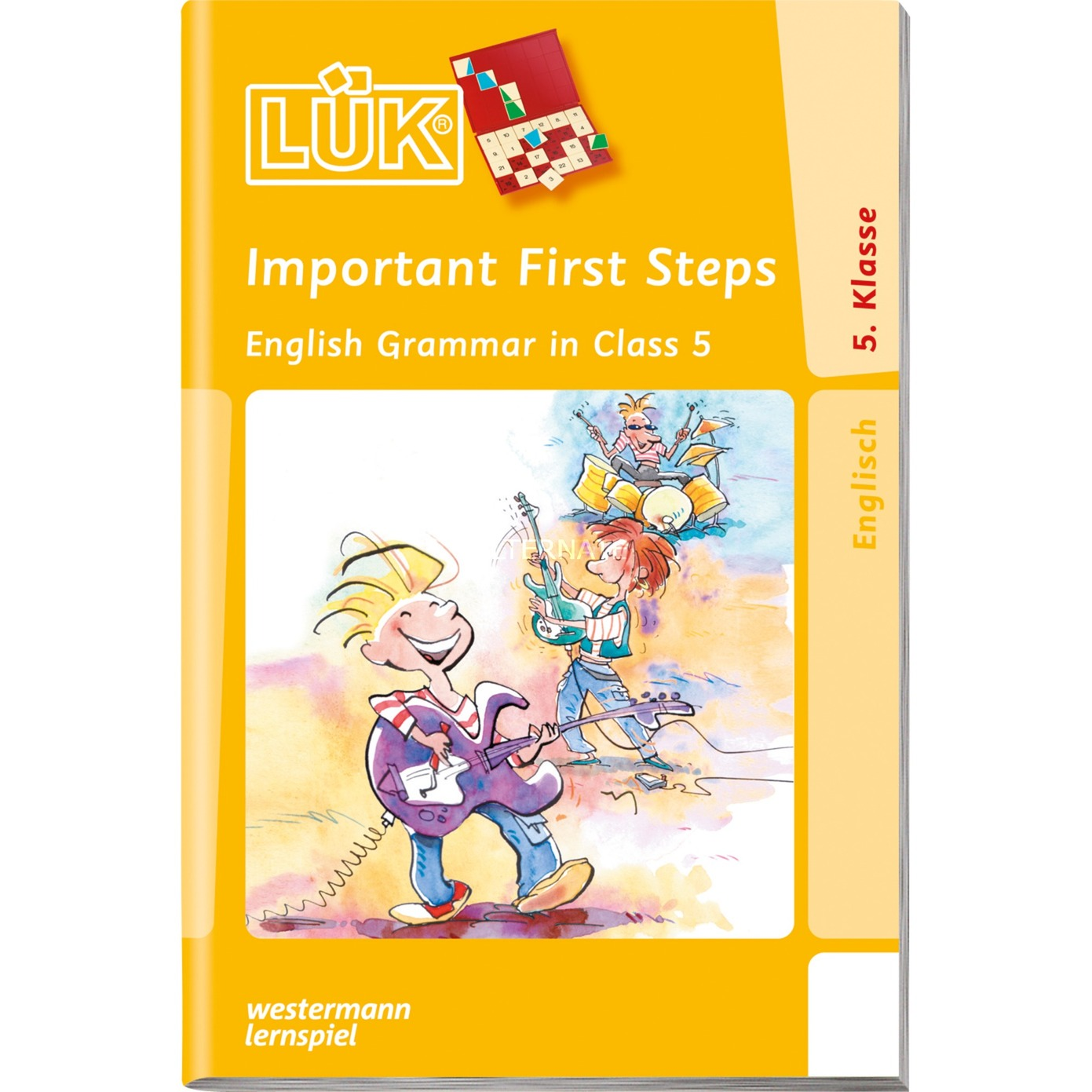 WESTERMANN LÜK-Heft: Important First Steps 5. Klasse, Lernbuch - broschei