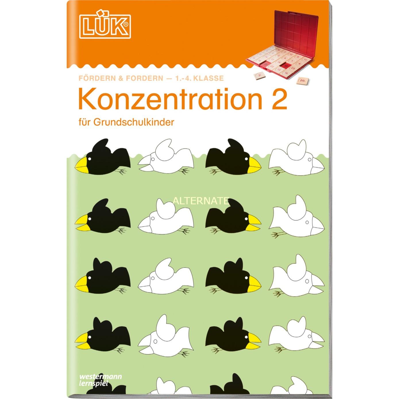 WESTERMANN LÜK-Heft: Konzentration 2, Lernbuch jetztbilligerkaufen