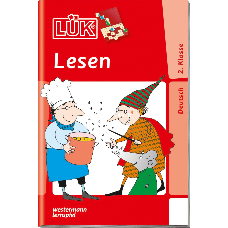 WESTERMANN LÜK-Heft: Lesen 2. Klasse, Lernbuch - broschei