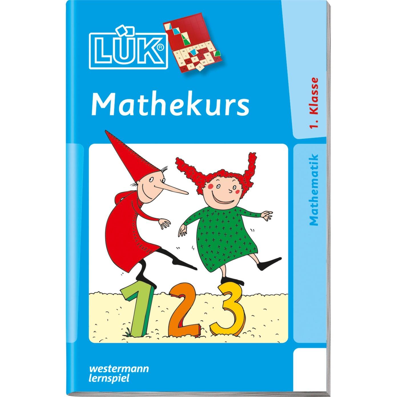WESTERMANN LÜK-Heft: Mathekurs 1. Klasse, Lernbuch