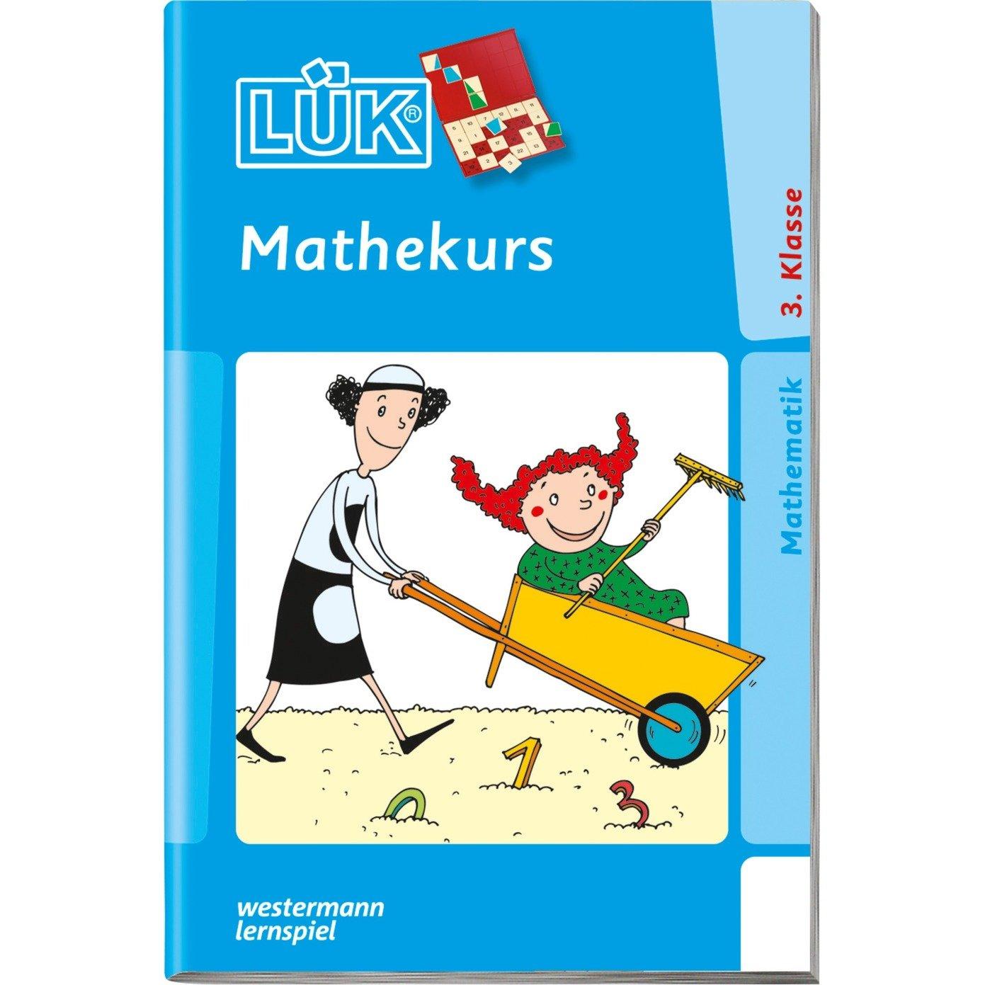 WESTERMANN LÜK-Heft: Mathekurs 3. Klasse, Lernbuch