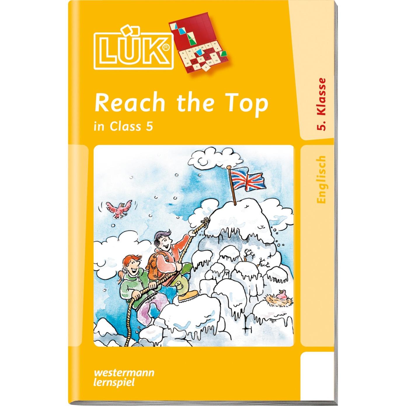 WESTERMANN LÜK-Heft: Reach the Top in Class 5, Lernbuch jetztbilligerkaufen