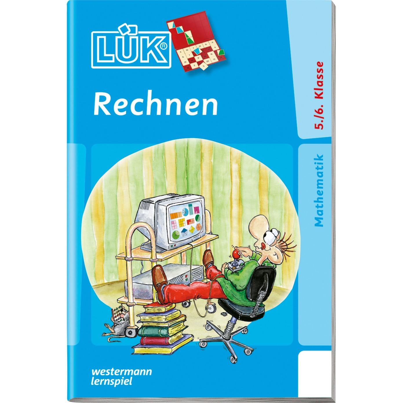 WESTERMANN LÜK-Heft: Rechnen Klasse 5/6, Lernbuch jetztbilligerkaufen