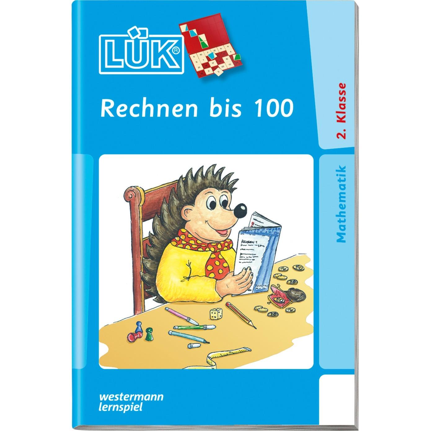 WESTERMANN LÜK-Heft: Rechnen bis 100, Lernbuch jetztbilligerkaufen