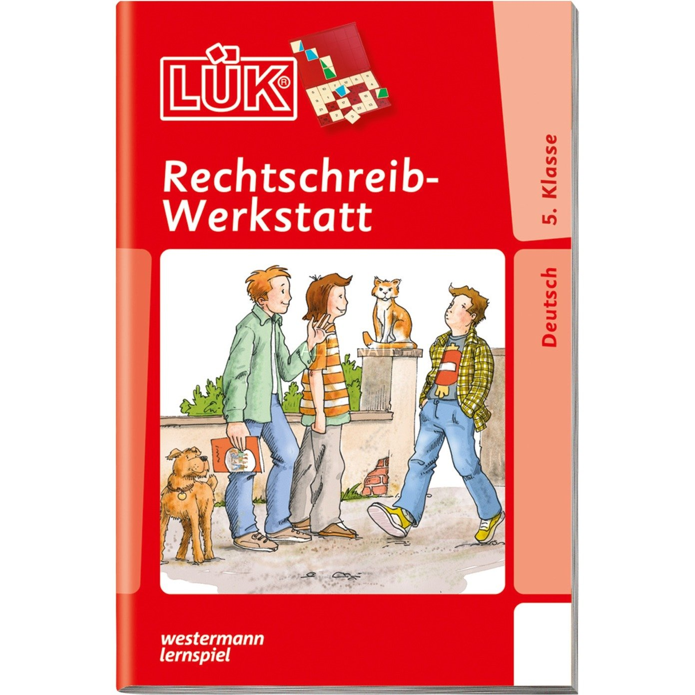 WESTERMANN LÜK-Heft: Rechtschreib-Werkstatt 5. Klasse, Lernbuch jetztbilligerkaufen