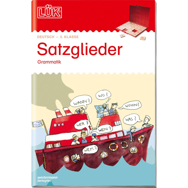 WESTERMANN LÜK-Heft: Satzglieder, Lernbuch - broschei
