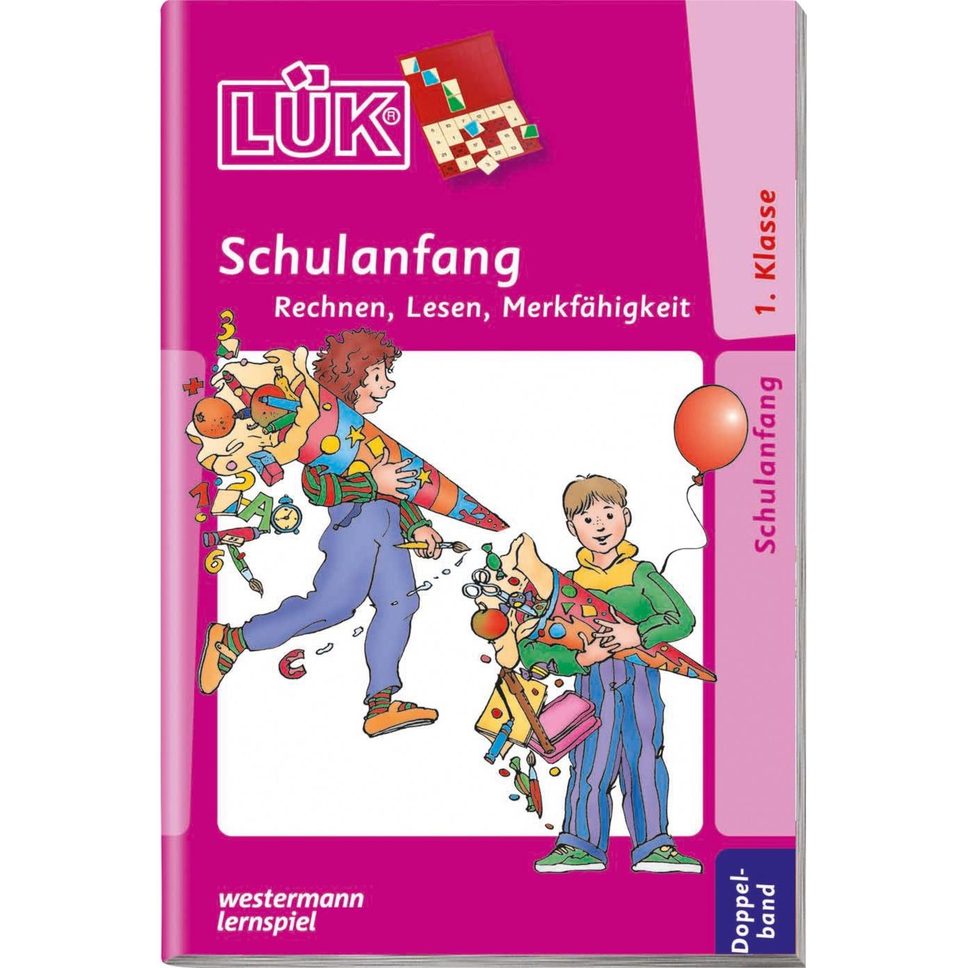 WESTERMANN LÜK-Heft: Schulanfang Doppelband, Lernbuch