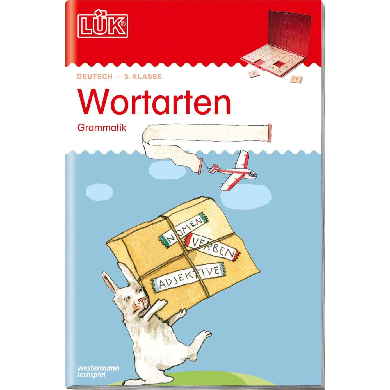 WESTERMANN LÜK-Heft: Wortarten, Lernbuch jetztbilligerkaufen