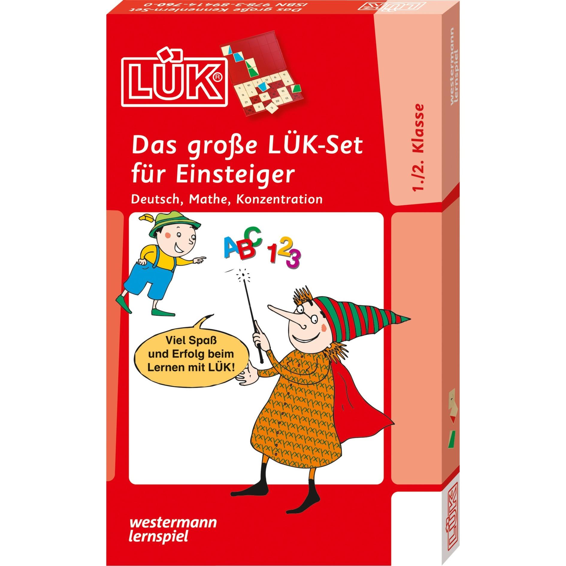 WESTERMANN LÜK: Das große LÜK-Set für Einsteiger, Lernbuch jetztbilligerkaufen