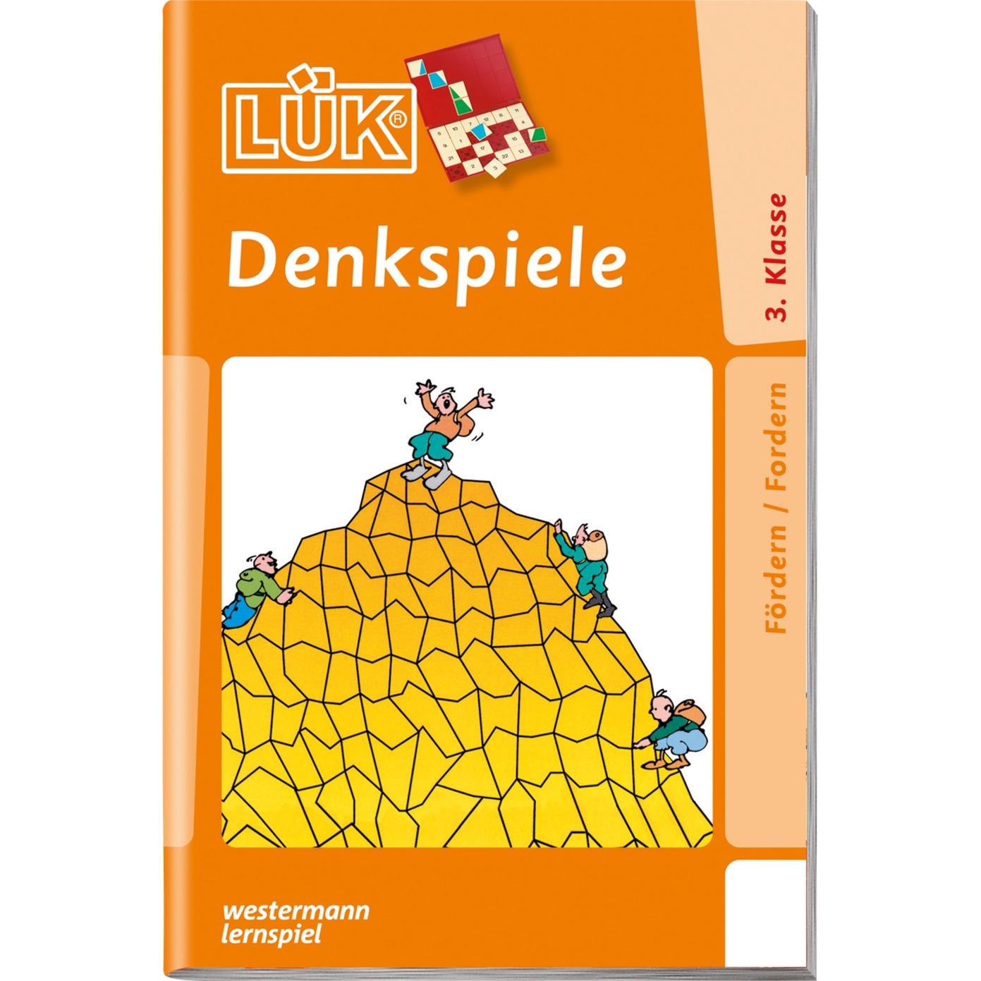 WESTERMANN LÜK: Denkspiele 1, Lernbuch - broschei
