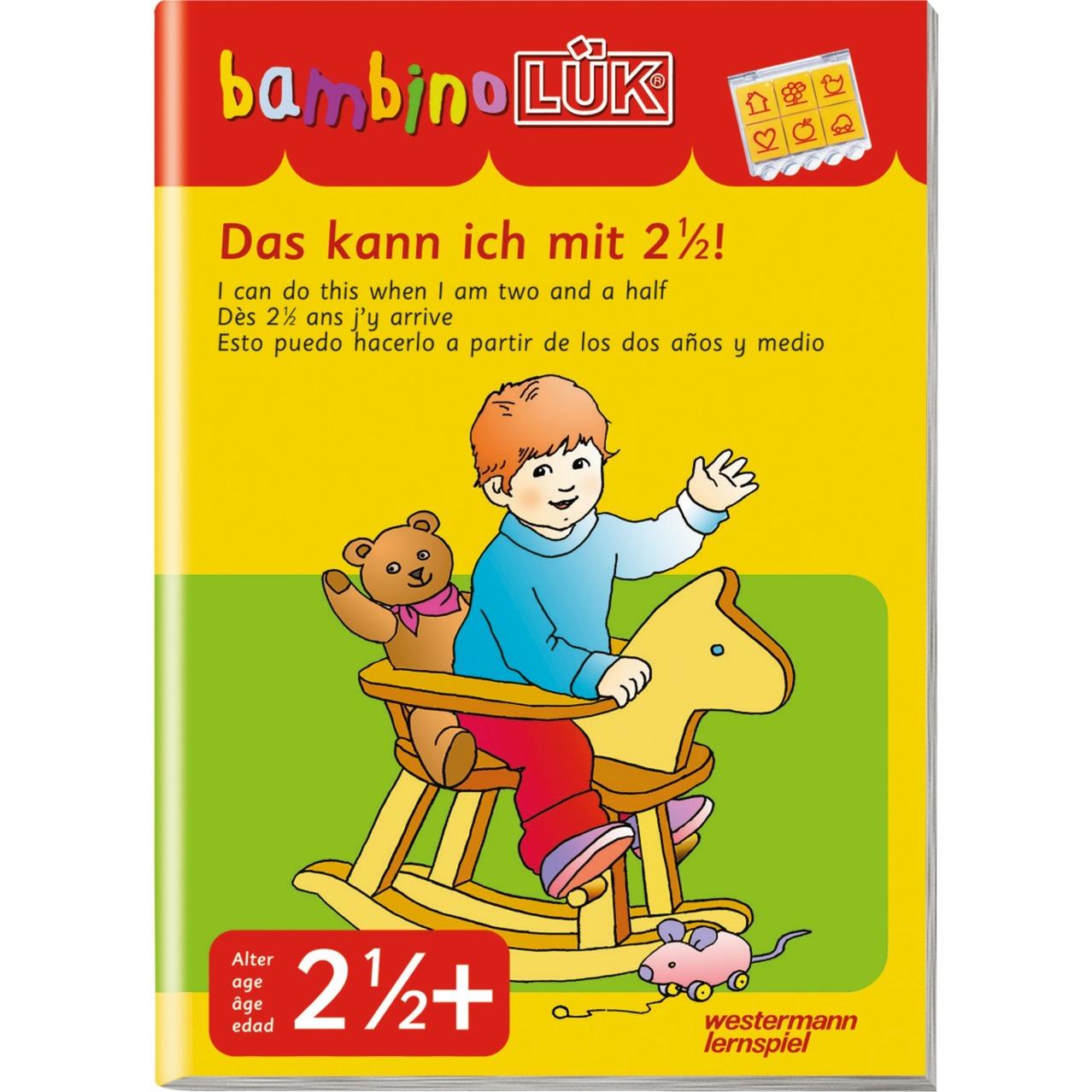 WESTERMANN bambinoLÜK-Heft: Das kann ich mit 2,5, Lernbuch