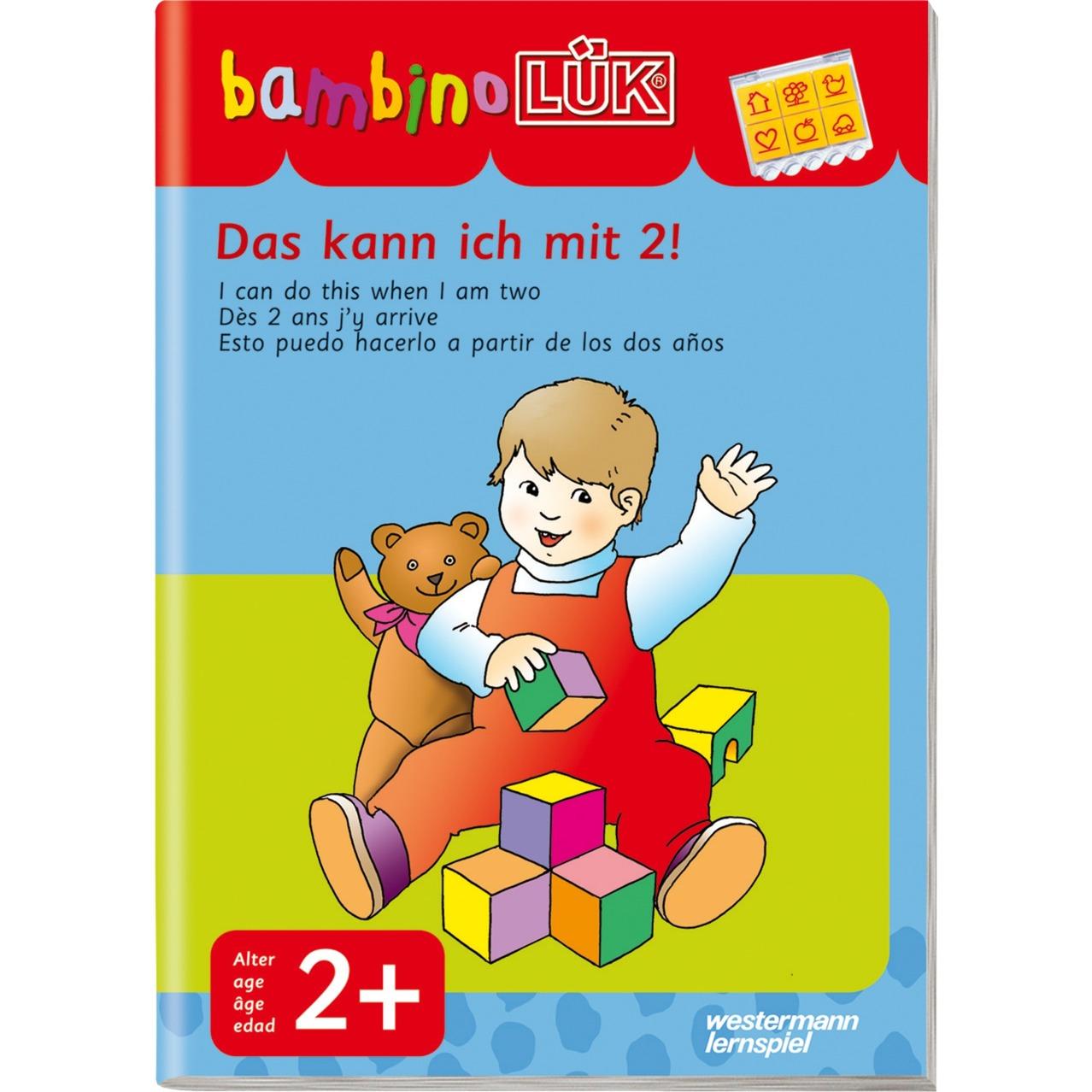 WESTERMANN bambinoLÜK-Heft: Das kann ich mit 2, Lernbuch