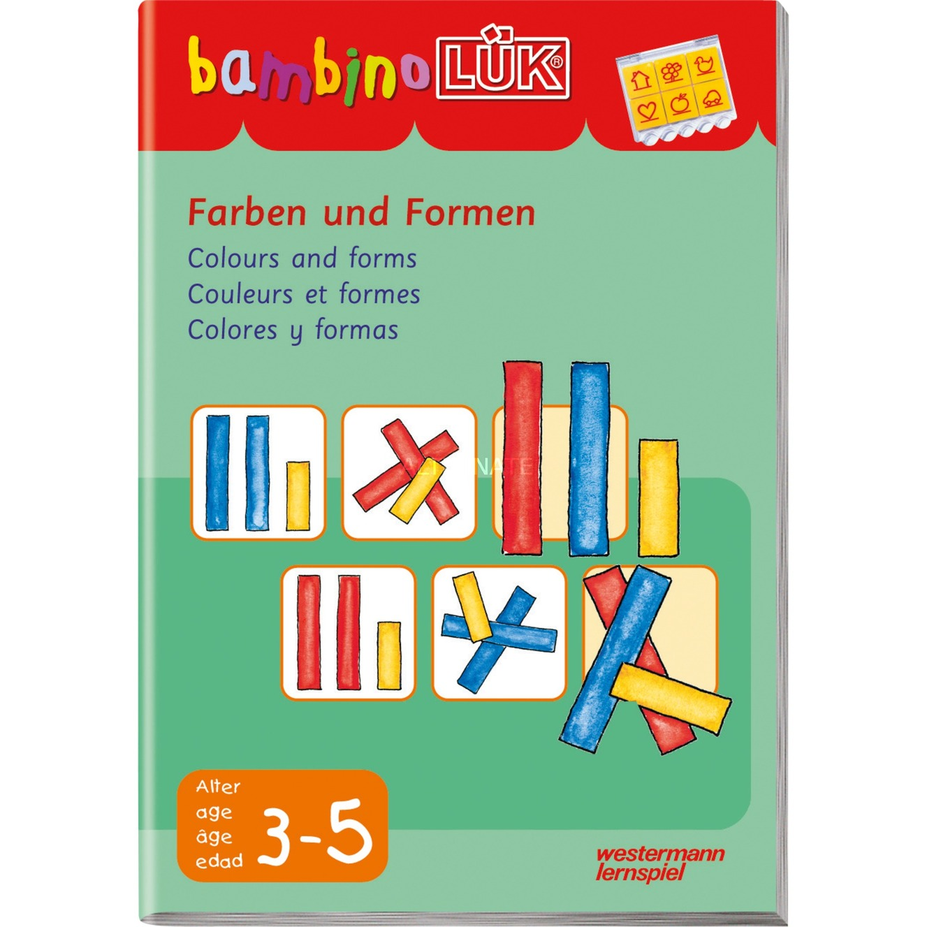 WESTERMANN bambinoLÜK-Heft: Farben und Formen, Lernbuch