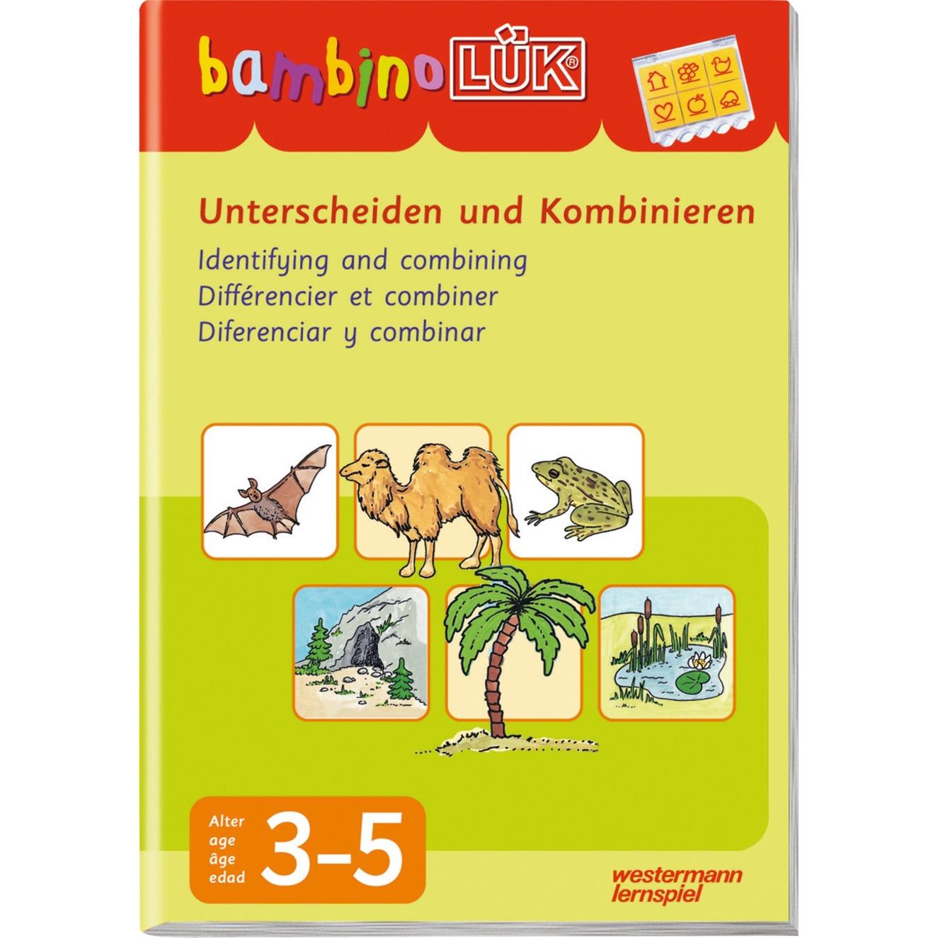 WESTERMANN bambinoLÜK-Heft: Unterscheiden & Kombinieren, Lernbuch