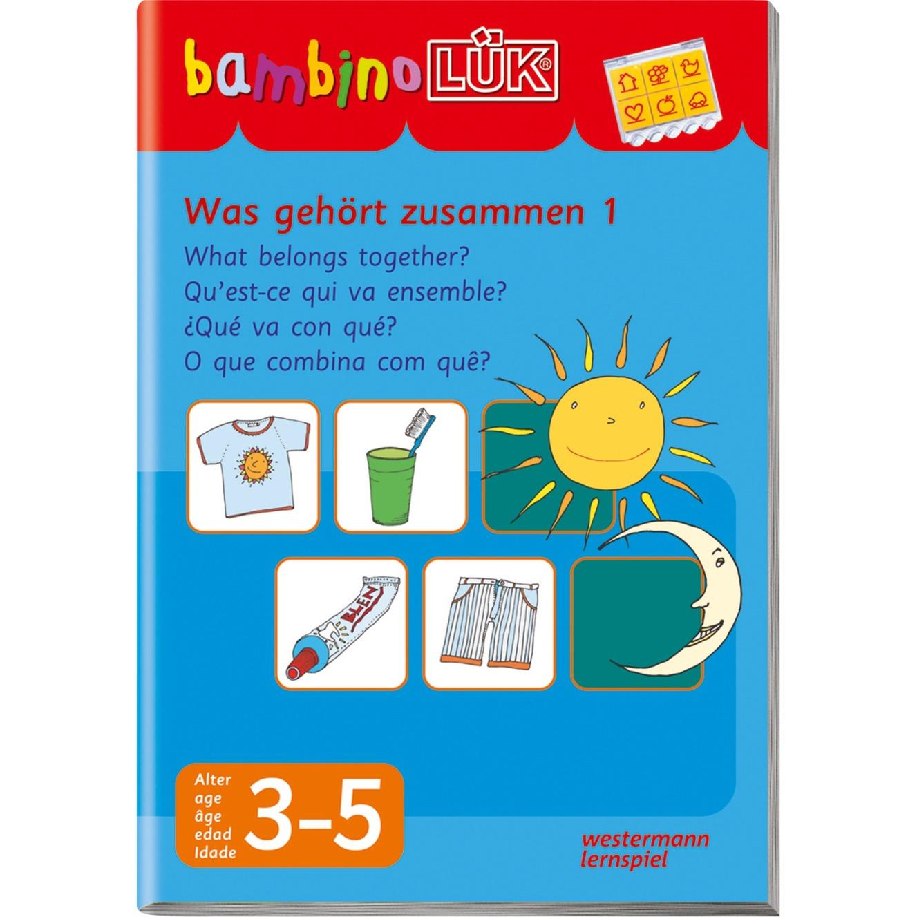 WESTERMANN bambinoLÜK-Heft: Was gehört zusammen 1, Lernbuch