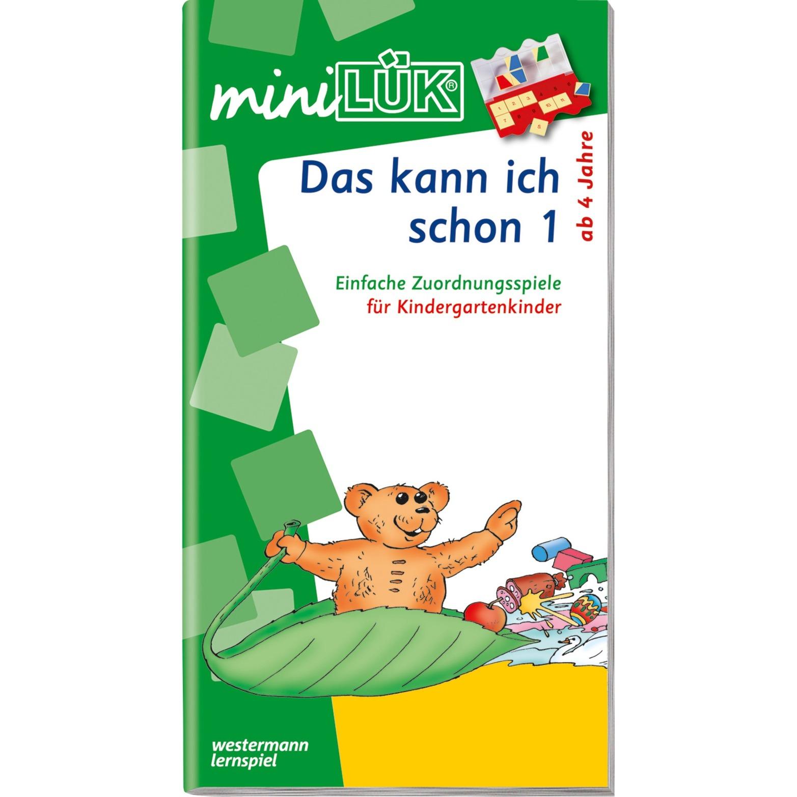 WESTERMANN miniLÜK-Heft: Das kann ich schon 1, Lernbuch