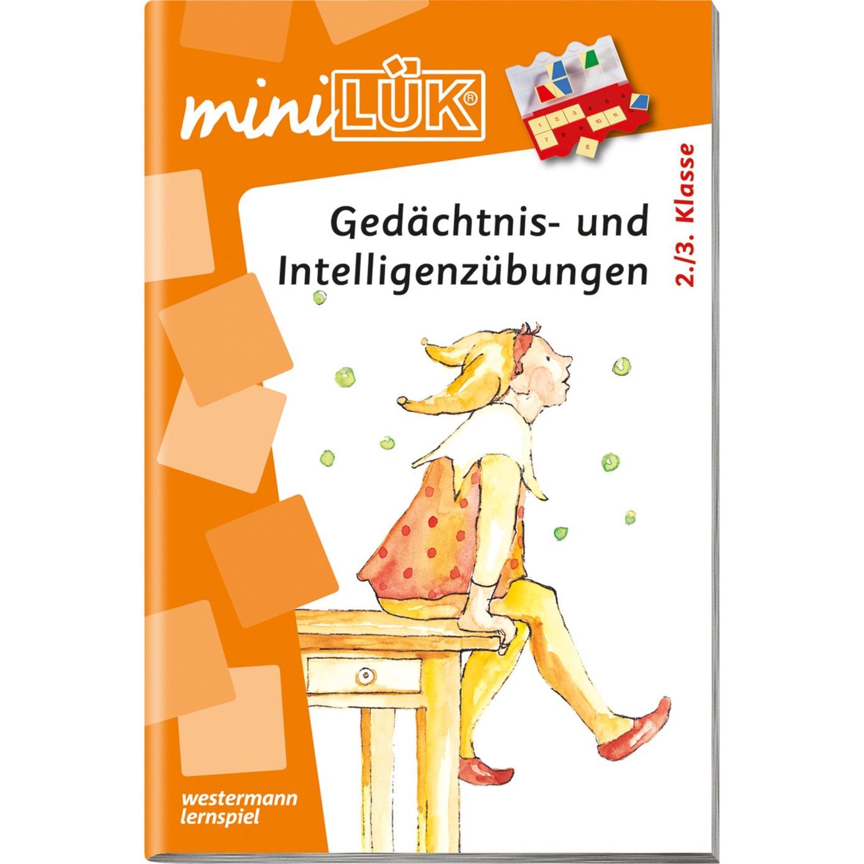 WESTERMANN miniLÜK-Heft: Gedächtnis- und Intelligenzübungen, Lernbuch