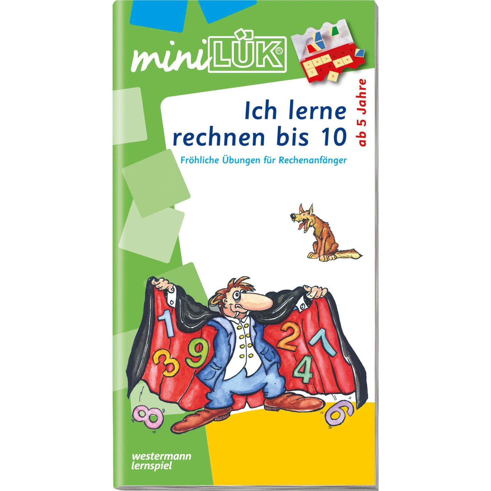 WESTERMANN miniLÜK-Heft: Ich lerne rechnen bis 10, Lernbuch