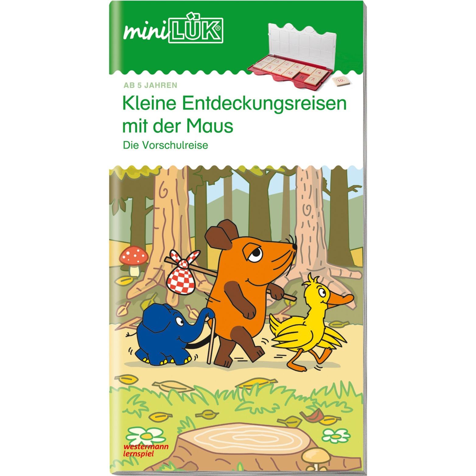 WESTERMANN miniLÜK-Heft: Kleine Entdeckungsreisen it der Maus, Lernbuch
