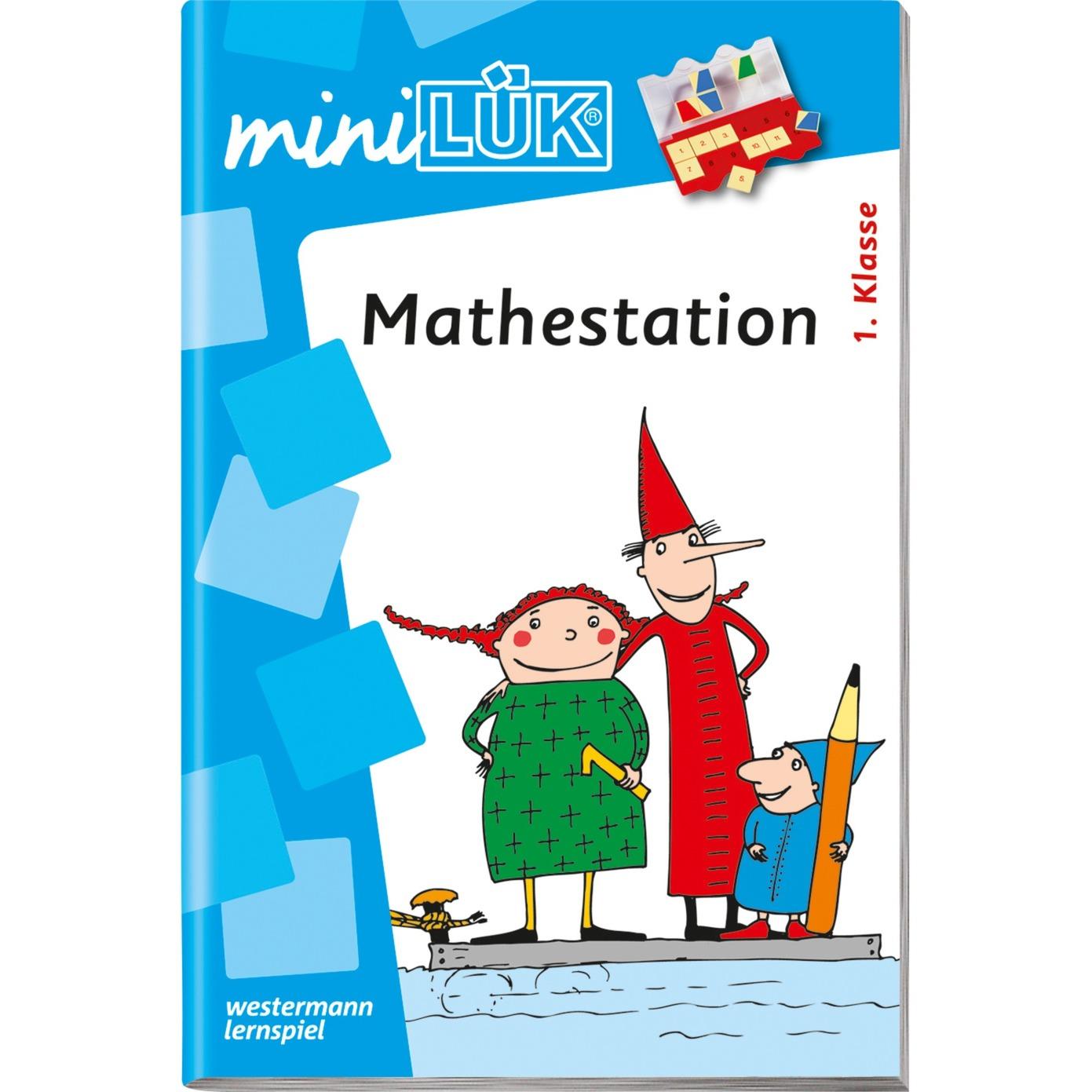 WESTERMANN miniLÜK-Heft: Mathestation 1. Klasse, Lernbuch